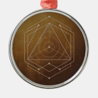 Goldish Metal Ornament