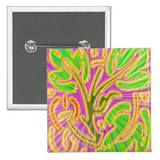 GoldLeaf Jewel Pattern Metallic Look Colors Pins