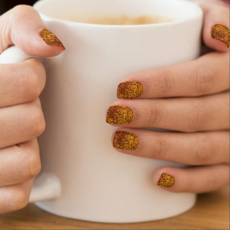 Golds Minx Nail Art