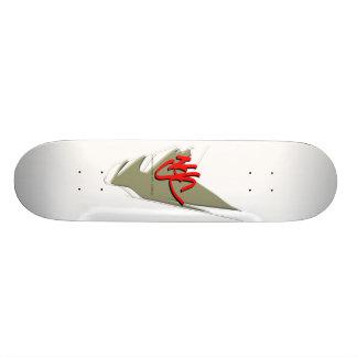 Goldshoepolish - NYC - Clothing Custom Skate Board