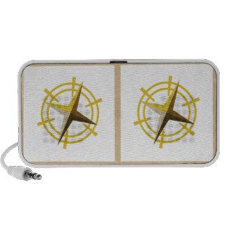 Goldstar : Ship Star Steering Wheel iPod Speakers