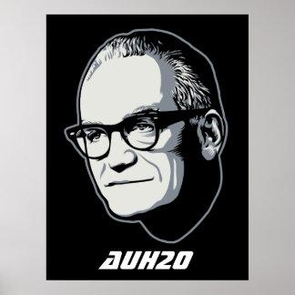 Goldwater AuH2O Customizable Poster