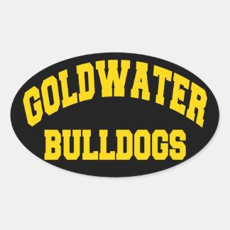 Goldwater Bulldogs Oval Sticker