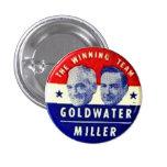 Goldwater-Miller jugate - Button