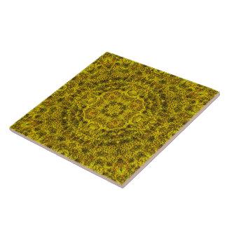 Goldweb Filigree Mandala Tile