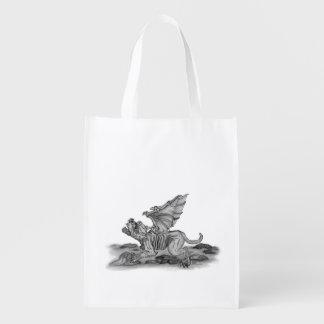 Golem Gargoyle Reusable Grocery Bag