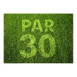 Golf 30th Birthday Party Personalised Invitation