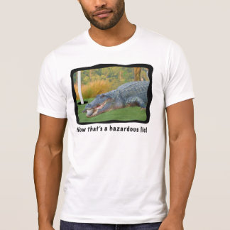 Golf, Alligator, Hazardous Lie T-Shirt