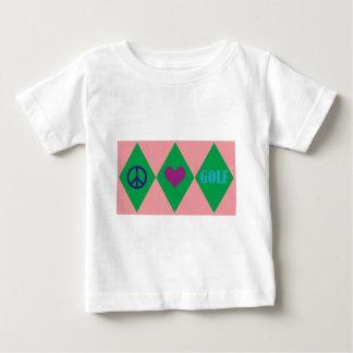 Golf Argyle Baby T-Shirt