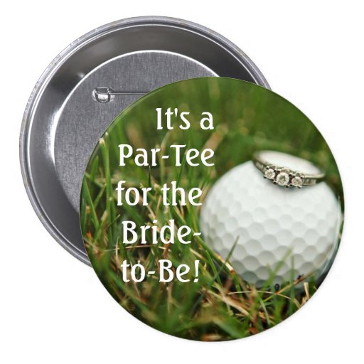 golf bachelorette button