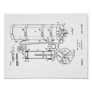 GOLF BAG PATENT 1929 - Poster