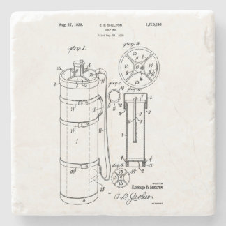 GOLF BAG PATENT 1929 - Stone Beverage Coaster
