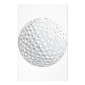 golf_Ball2 WHITE GOLF BALL SPORTS GRAPHICS VECTOR Customized Stationery