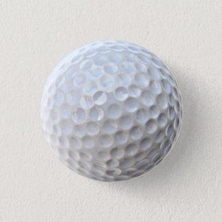 Golf Ball 3 Cm Round Badge