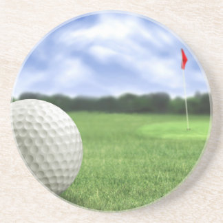 Golf Ball 4 Coaster