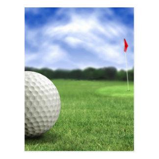 Golf Ball 4 Postcard