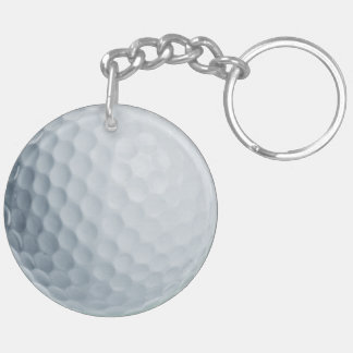 Golf Ball acrylic keychain