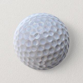 Golf Ball Badge Pin Button