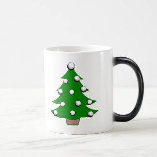 Golf Ball Christmas Tree Morphing Mug