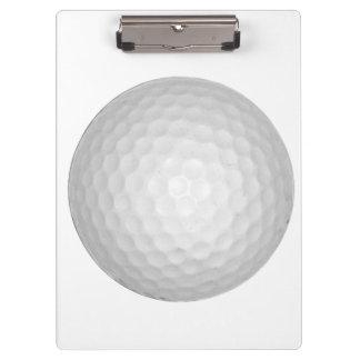 Golf Ball Clipboards