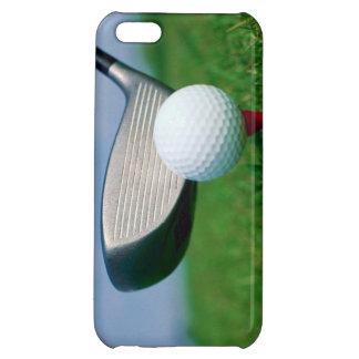 Golf ball club grass iPhone case iPhone 5C Cases