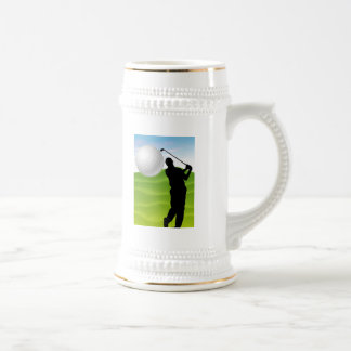 Golf Ball Coming at You Coffee Mugs