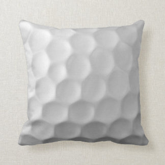 Golf Ball Dimples Texture Pattern Cushion