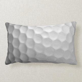 Golf Ball Dimples Texture Pattern Lumbar Pillow
