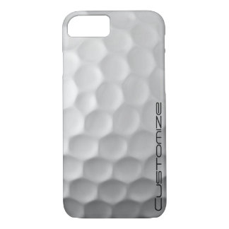 Golf Ball Dimples Texture Pattern Personalised iPhone 7 Case