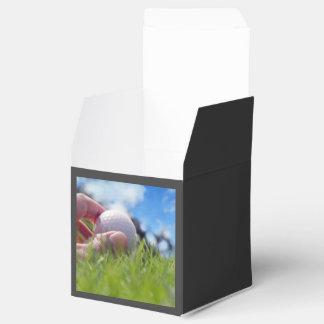 Golf ball favour box