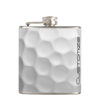 Golf Ball Flask with Personalised Name