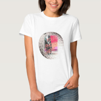 Golf Ball Frame Template T-shirts