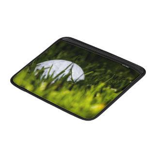 golf ball hiding remix MacBook sleeves
