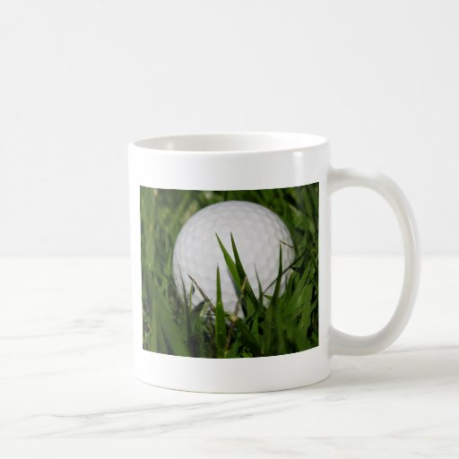 Golf Ball In The Rough Coffee Mugs