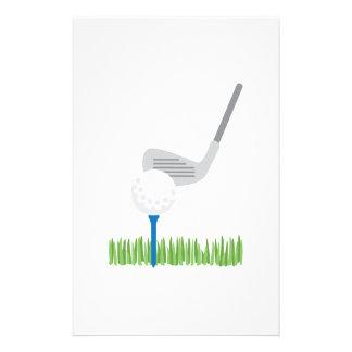 Golf Ball & Iron Stationery