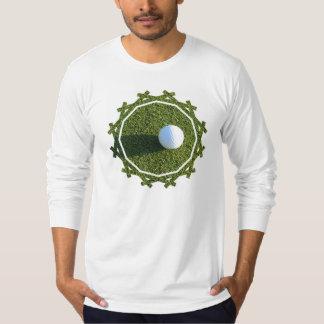 Golf Ball on Golf Green Men's Long Sleeve T-Shirt