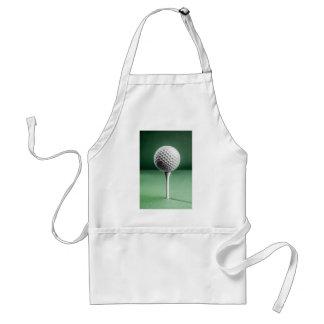 Golf Ball on Tee Standard Apron