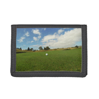 Golf Ball On The Green TriFold Wallet
