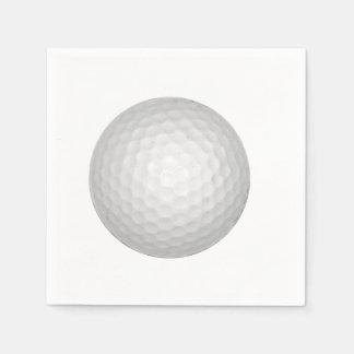 Golf Ball Paper Napkin