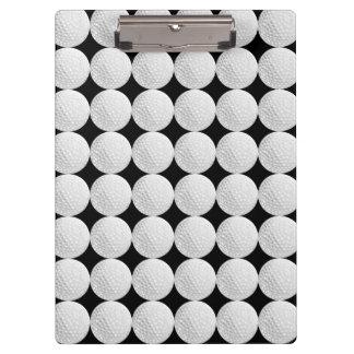 Golf Ball Pattern Clipboards