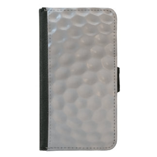 Golf ball pattern texture samsung galaxy s5 wallet case