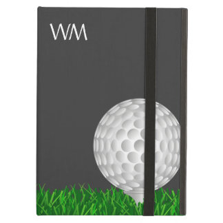 Golf ball, personalized, golf iPad air cover