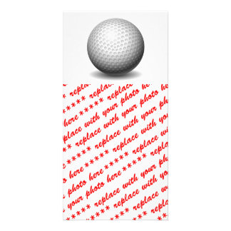 Golf Ball Photo Cards