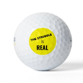 Golf Ball Set-The struggle is Real