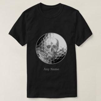 Golf Ball Skull T-Shirt