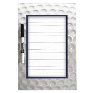 Golf Ball Sport Dry Erase Board