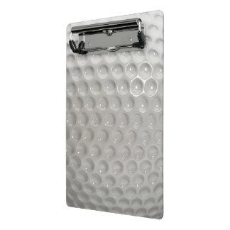 Golf Ball Sport Mini Clipboard