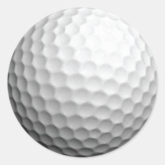 Golf Ball Sticker