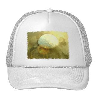 Golf Ball Stuck in the Mud Cap Trucker Hats