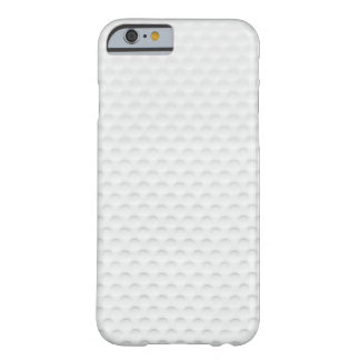 Golf Ball Texture Barely There iPhone 6 Case